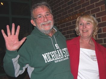 Steve Butts and wife Kathy